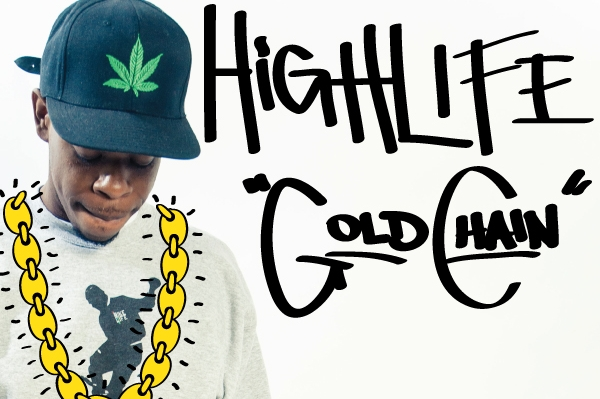 """Highlife: """"Gold Chain"""" feat Naledge (prod. by Tony Baines) MP3"""