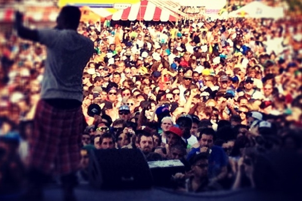 Kendrick Lamar at Soundset via RubyHornet.com