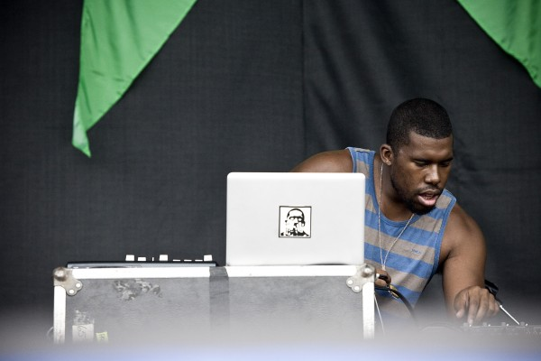 Flying Lotus Pitchfork 2012