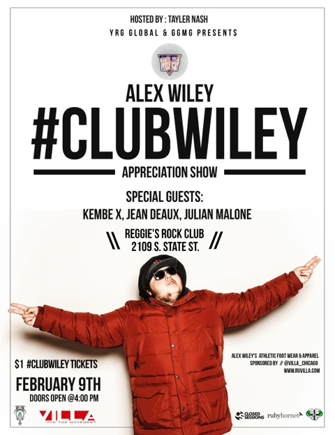 ClubWiley Appreciation Show Final Flier 1.0